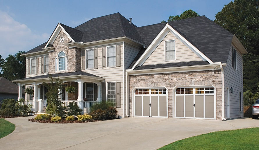 GRAND HARBOR® collection garage doors