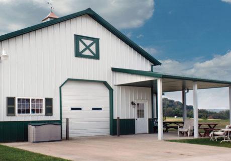 Insulated Economy garage doors