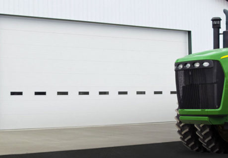 Insulated Polystyrene garage doors