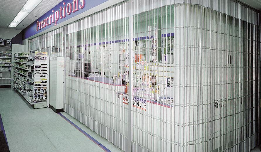 Security Grilles garage doors