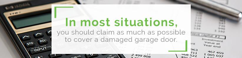 damaged-garage-door-insurance-claims