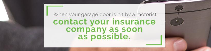 garage-door-hit-by-motorist