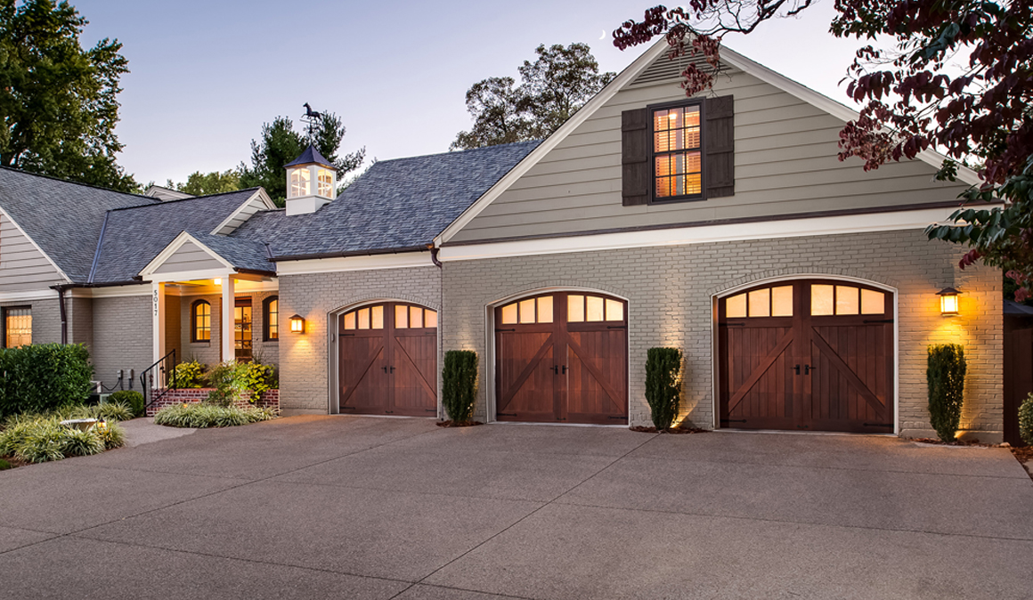 Bring Curb Appeal To Your Home From Your Garage